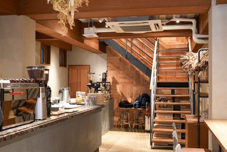 COFFEE VALLEY 内観(1階部分)