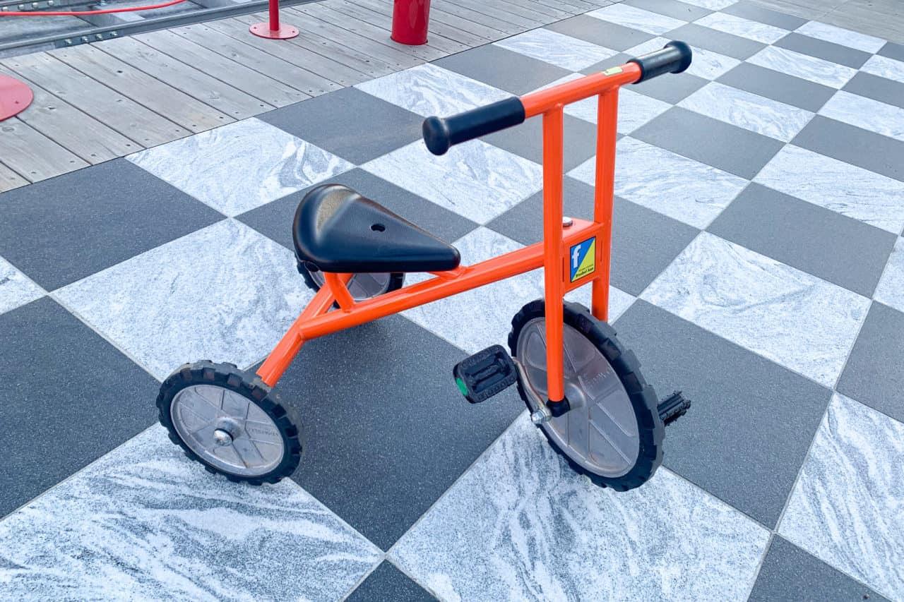 としまキッズパーク 三輪車