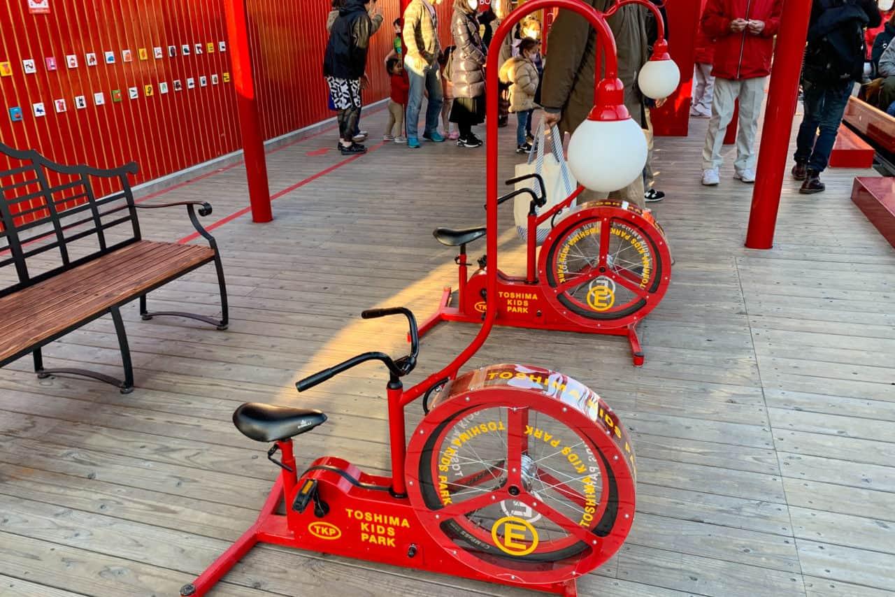 としまキッズパーク自転車