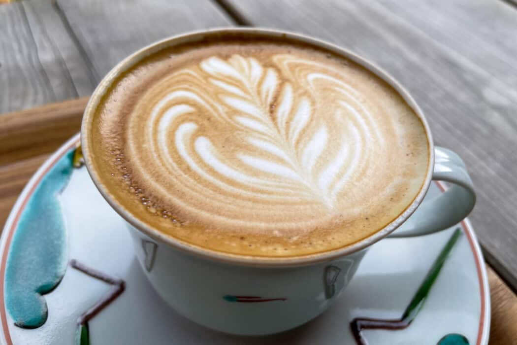 ぼうず'n coffee カフェラテ