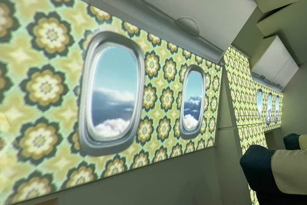 FIRST AIRLINES プロジェクションマッピング