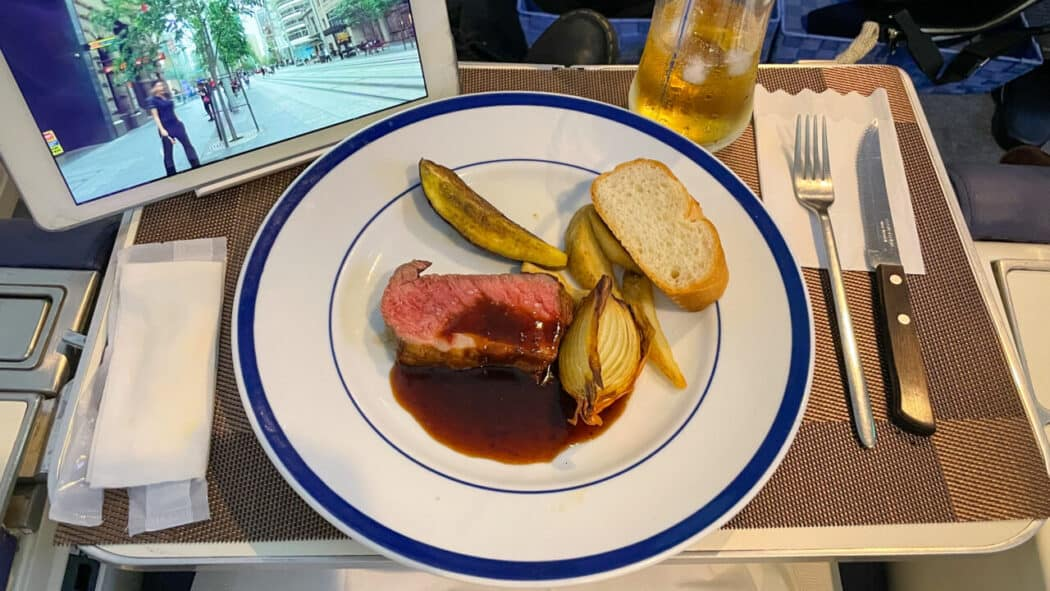 FIRST AIRLINES 機内食