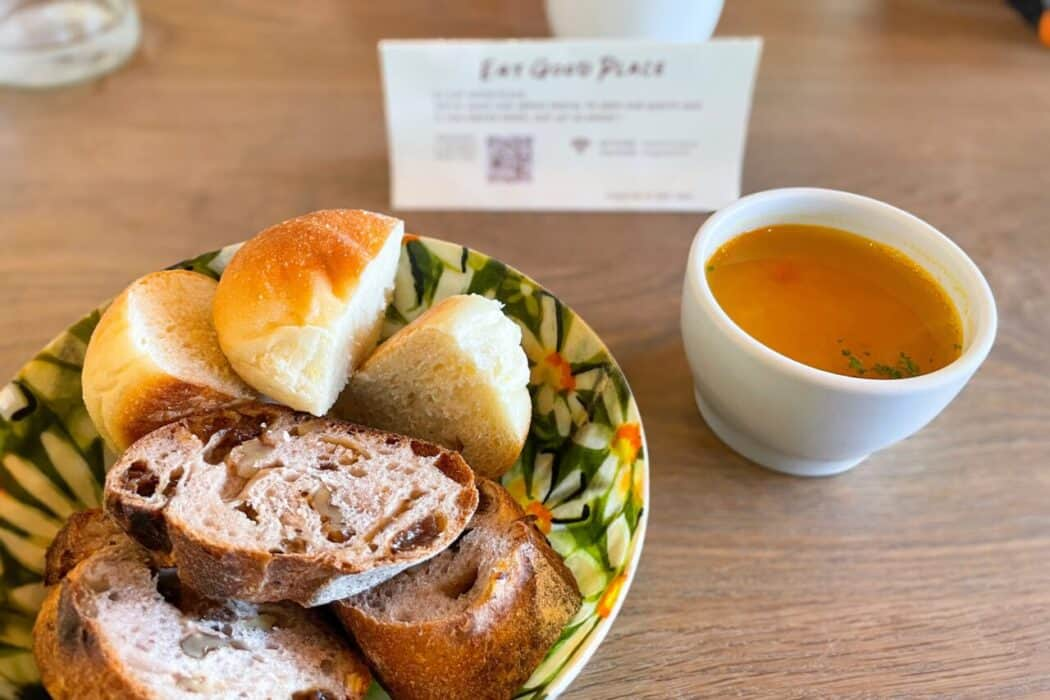 EAT GOOD PLACE パン