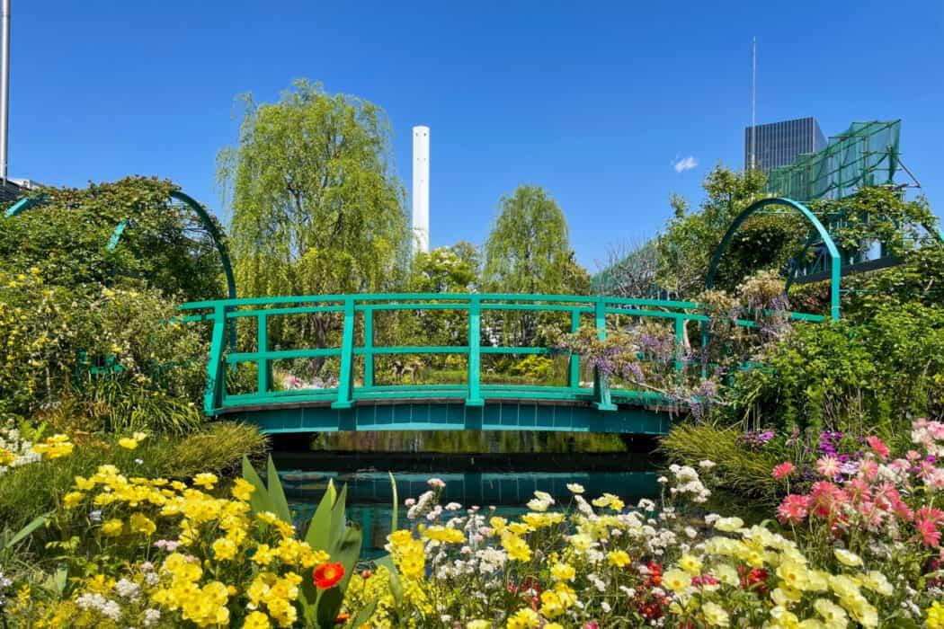 食と緑の空中庭園 睡蓮の庭2