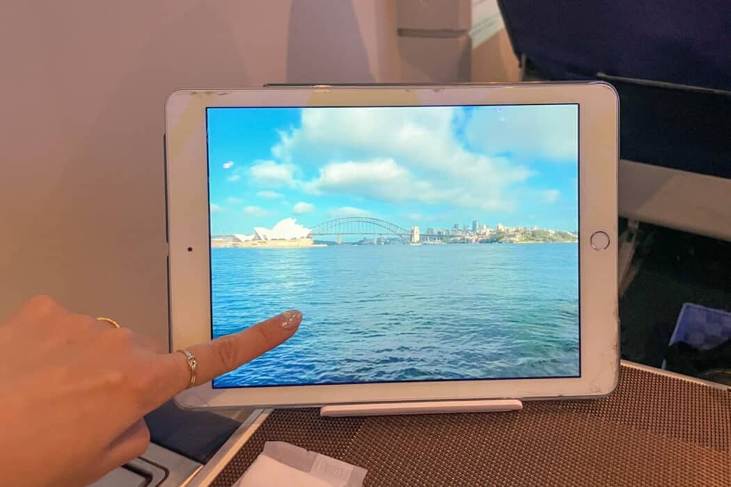 FIRST AIRLINES タブレット現地中継
