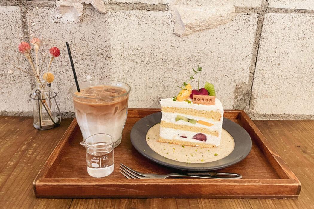 SOROR ミックスフルーツのショートケーキ