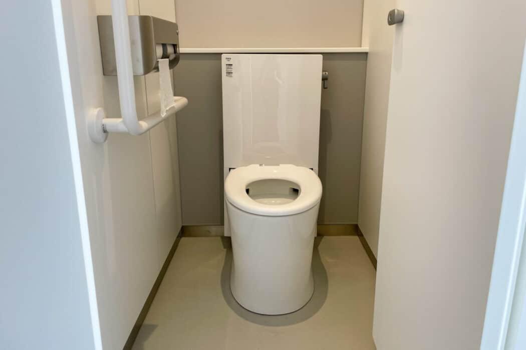 イケ・サンパーク 防災設備 非常用トイレ5