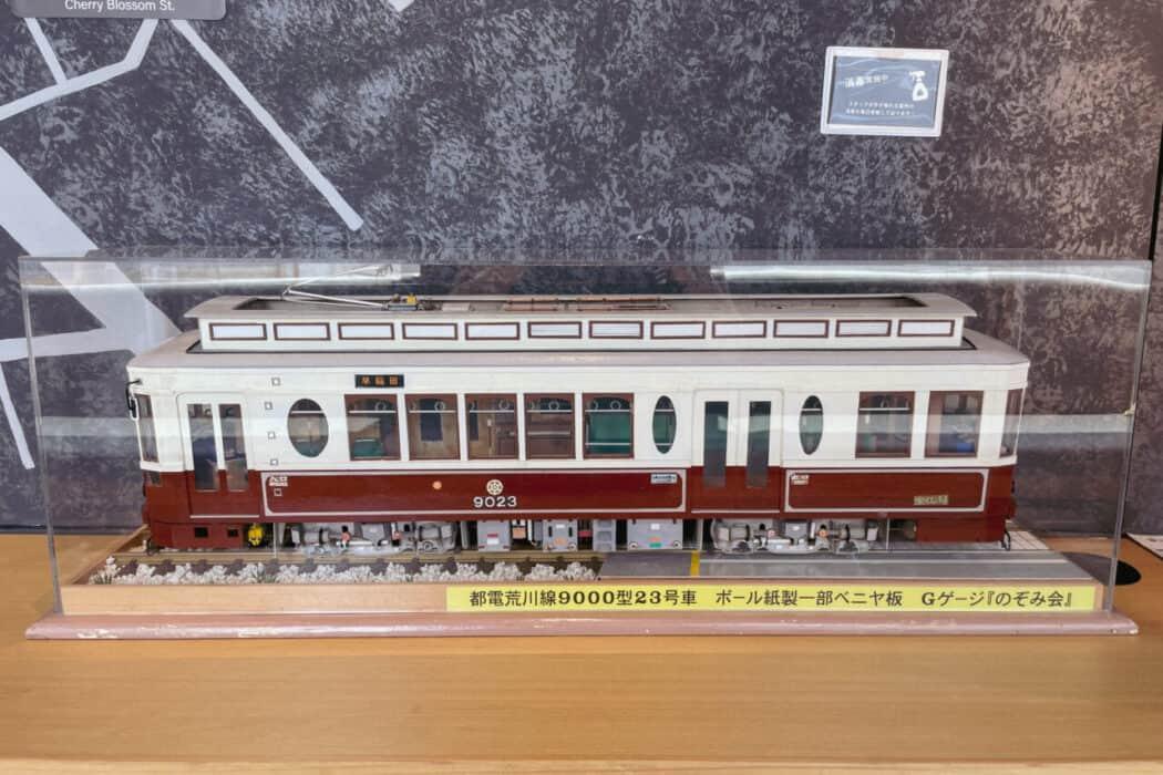 OMO5東京大塚 OMOカフェ 都電模型