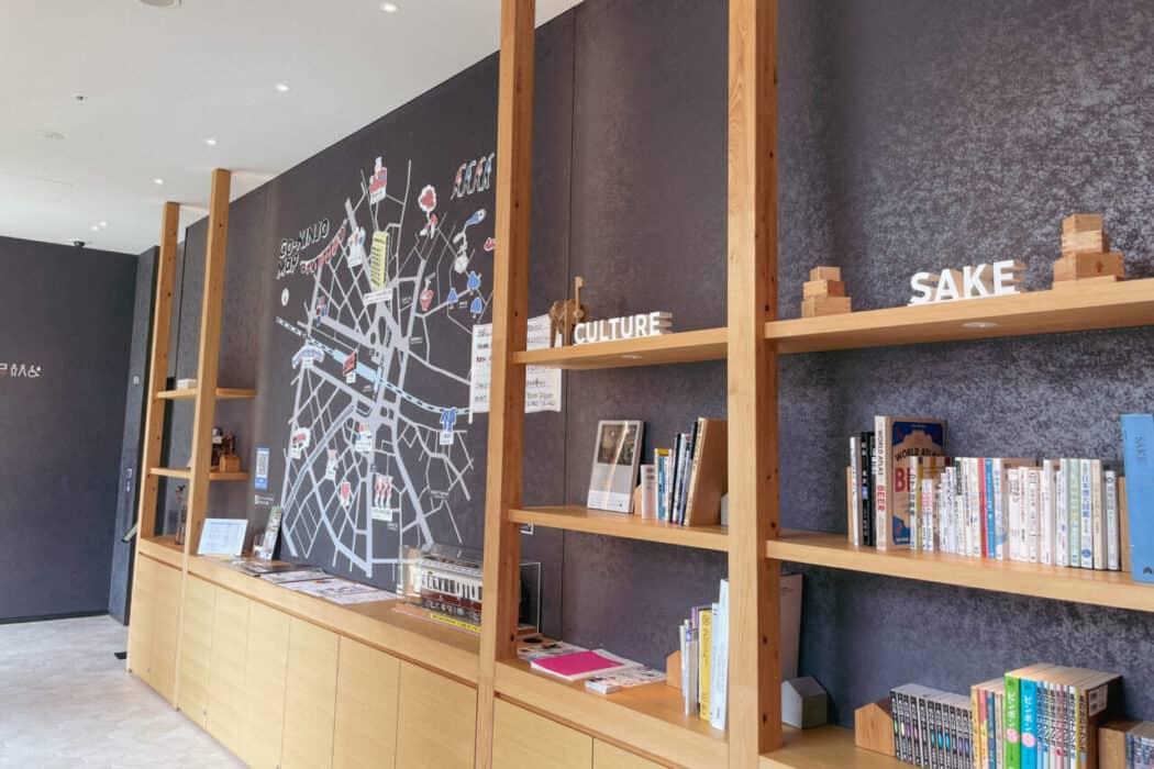 OMO5東京大塚 OMOカフェ ご近所マップ