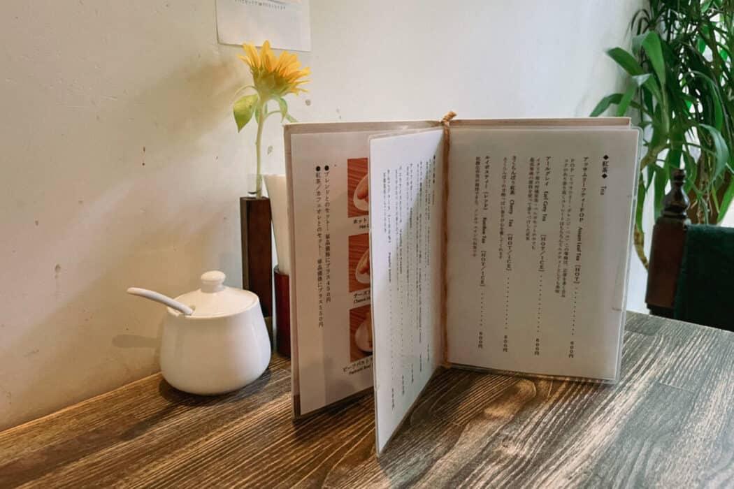 キアズマ珈琲 テーブル席